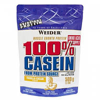 Протеин 100% Casein Ваниль WEIDER 500 гр
