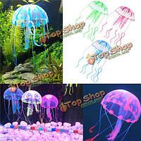 3.5см аквариум аквариум светящийся эффект медузы аквариум орнамент декора