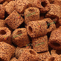 500г керамика био пористый фильтрующий материал биологические кольца аквариумных рыб бак, фото 1