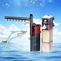 Аквариума кислорода фильтр насоса погружной насос внутренний спрей бар фильтрации фильтр аквариума кислорода р
