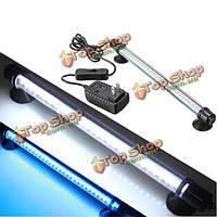 42 LED белый синий свет аквариум погружные лампы бар 230В