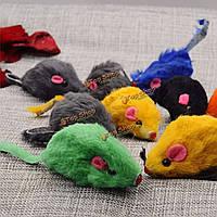 Животное кошка котенок игрушки мини плюшевые мягкие мышей мыши играть учебный игрушку, фото 1