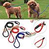 0.6см диаметр нейлона скольжения веревки ходить свинца поводок собаки любимчика мягкая сильная рабочая тренировка