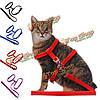 Кошка регулируемый ремень безопасности канат капроновый жгут привести поводок для котенка