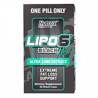 Жиросжигатель Lipo-6 Black Hers Ultra Concentrate Nutrex Research 60 black-капс