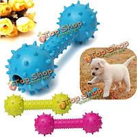 Собаки любимчика резиновый штанга стоматологическая чистка зубов жевать игрушки играть