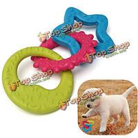 3в1 луна звезды солнце кота собаки любимчика резиновый стоматологическая прорезывание зубов жевать игрушки играть, фото 1