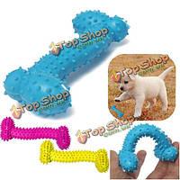 11см любимчика косточки собаки tpr резиновые укус упорный чистка зубов жевать игрушки, фото 1