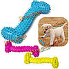 16см любимчика косточки собаки tpr резиновые укус упорный чистка зубов жевать игрушки