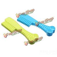 Резиновая зубная щетка в форме chew игрушка для домашних животных собаки кошки, фото 1