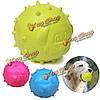 Собаки любимчика шарика tpr резиновые укус упорный чистка зубов жевать игрушки играть