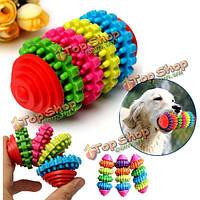 4 этаж красочные Pet собака скольжения шестерни молярной чистка зубов жевать игрушки