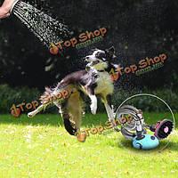 Многофункциональный любимчика кота собаки насадка для душа шампунь щетка холить ванны вода спрей распылитель
