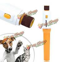 Прочный профессиональный собака щенок кошка электрический ноготь на пальце ноги холить триммера комплект мясорубки ножничные, фото 1