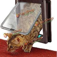 4 способ безопасно заслонки подходит замок двери для домашних животных кошки собаки небольшого