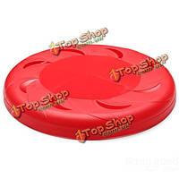 Луна shaped полые питомцу летающий диск фрисби игрушка для собак