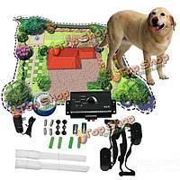 Подземная электрическая собака животное невидимым ограждение забор шок воротник