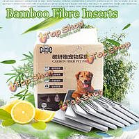50шт любимчика собаки кота бамбукового древесного угля волокна пеленок мочи площадку стерилизации дезодорации