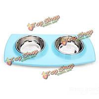 ДБ-68 лоток двойной шар любимчика собаки кошачий корм фидер