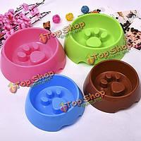 Пластик кошка щенок шар животное медленно ест подачи пищи пить подачи наворотов блюдо