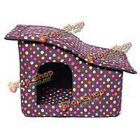 Мягкая ткань точка гипотенузы крыши кота собаки любимчика дом