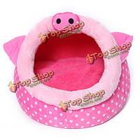 Розовый поросенок формы любимчика дома собаки питомника кошек ручка