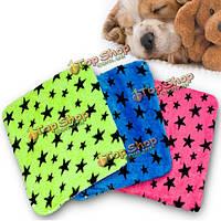 Собака кошка комфортно теплой байки нагревательный мат звезда тепло одеяло кровать