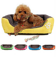М размер собака кошка животное щенок питомников кровати коврик дома конуре теплый мягкий коврик одеяло