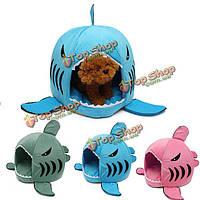 Домик-лежак для домашних питомцев Акула S