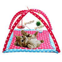 Кота собаки любимчика мобильные многофункциональные игры палатка игрушки складная деятельность ПЭТ кровать коврик коврик одеяло дом