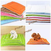Домашняя кошка щенок теплый коврик питомник стирать подушки животное