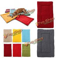Теплые клети собаки любимчика клетки кота щенок питомник кровать коврик коврик для дома мягкая уютная подушка