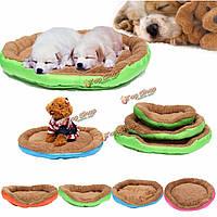 Теплое домашнее животное собака кошка кровать гнездо щенок уютно плюшевой подушки дом мягкий теплый коврик одеяло кинологический