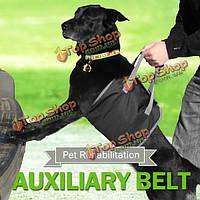 Собаку вспомогательный ремень сумка несущей помочь слинг открытый Жгут реабилитации портативный поддержки подъема