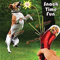 Корм для животных пусковая питатель тренировки собаки награда весело пусковая кошки собаки взаимодействуют игры игрушка весело провести