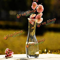 Цветок гидропонных растений полочные стеклянная бутылка ваза дома сад украшение свадебного банкета