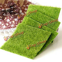 15xМиниатюрный искусственный зеленый газон мха на 15см сделай сам микро пейзажное художественное оформление