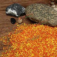 Поделки ручной работы модель здания материал трава дерево губка оранжевый порошок смесь пыльцы