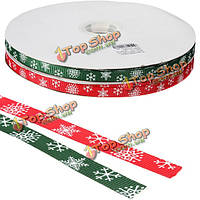 Merry Christmas Supplies Snow Ribbon Grosgrain Ribbons Home Decoration