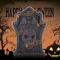 Хэллоуин ужас реквизит пена черепа надгробий сад украшение праздника