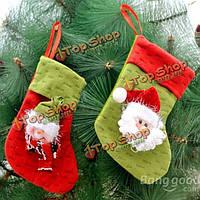 1шт рождественские чулок наполнителя брюки лечения подарок мешок мешок