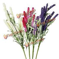 4 цветы искусственные лаванды цветок главная партия украшение свадьбы