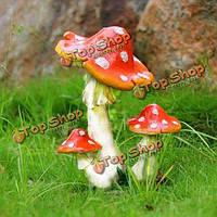 Мини-пейзаж смолы гриб домашний офис украшения сада