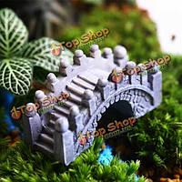 Эко бутылка украшения каменный мост сад микро пейзаж