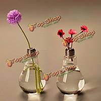 Форма лампы стеклянная ваза цветка завода емкость для воды домашний декор свадьбы
