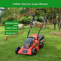 Esen 1400Вт 1600Вт 10м связал электрического оппортуниста травы 9 галлонов газонокосилки пропалывание машины