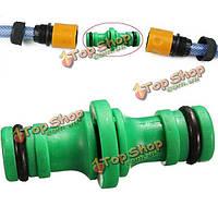 Зеленая вода трубы двухсторонний ниппельном соединении шланга пластиковый соединитель штуцер