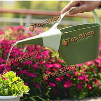 1.2л сад PP пластичный длинный носик цветочной лейки горшок бутылки