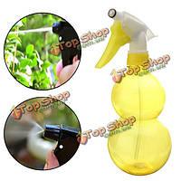550мл садоводство давления руки желтый лейка из пластика посадки инструмент распылитель