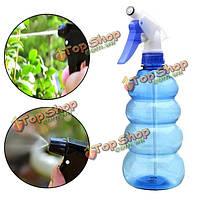 550мл давление садоводство рука синий лейки пластик посадки окропление консервный инструмент